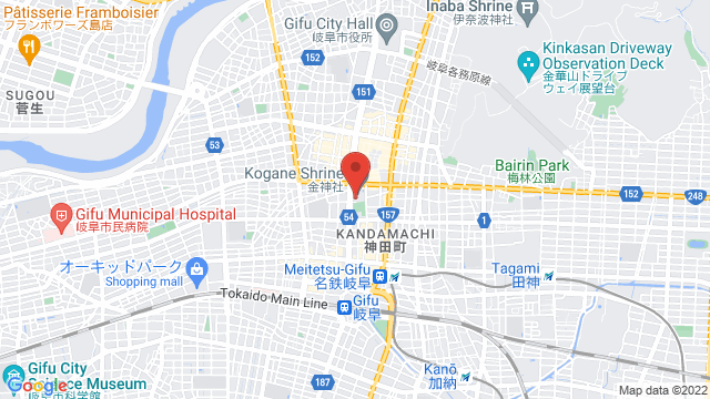 金神社(こがねじんじゃ) 岐阜県岐阜市金町5-3