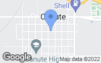 Map of Canute, OK
