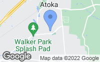 Map of Atoka, TN