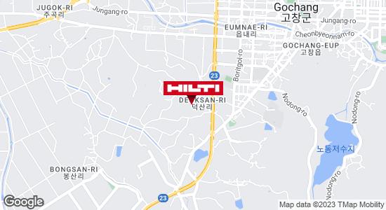 Get directions to 전북고창덕산343.