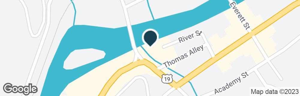 Google Map of50 HIGHWAY 19