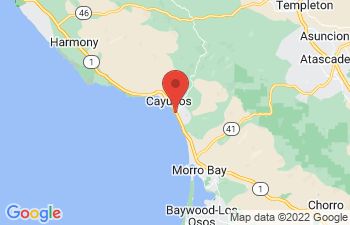 Map of Cayucos