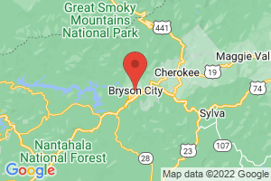 Map of Bryson City Area