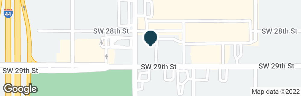 Google Map of2835 SW 29TH ST