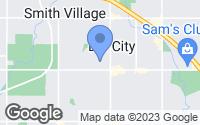 Map of Del City, OK