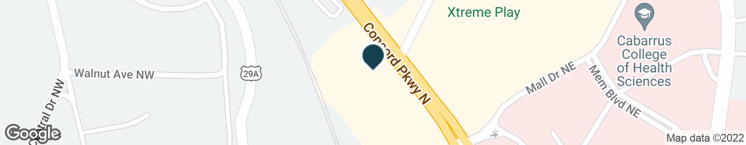 Google Map of1495 CONCORD PKWY N