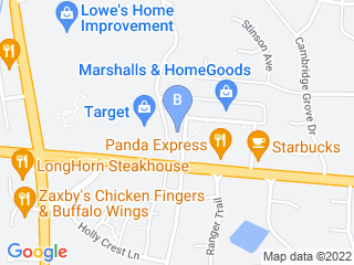 Map of Carolinas Veterinary Care Clinic Dog Boarding options in Huntersville | Boarding