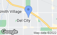 Map of Del City, OK