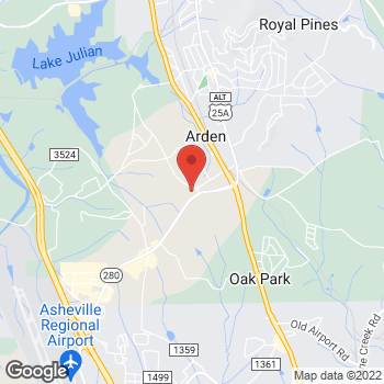 Map of State Employees' Credit Union at 40 Airport Rd, Arden, NC 28704