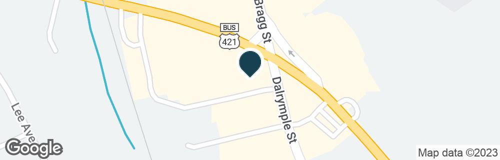 Google Map of1956 S HORNER BLVD
