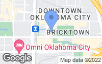 Map of Oklahoma City, OK