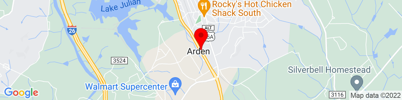 Google Map of 35.46611111111111, -82.51638888888888