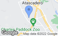 Map of Atascadero, CA
