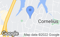 Map of Cornelius, NC