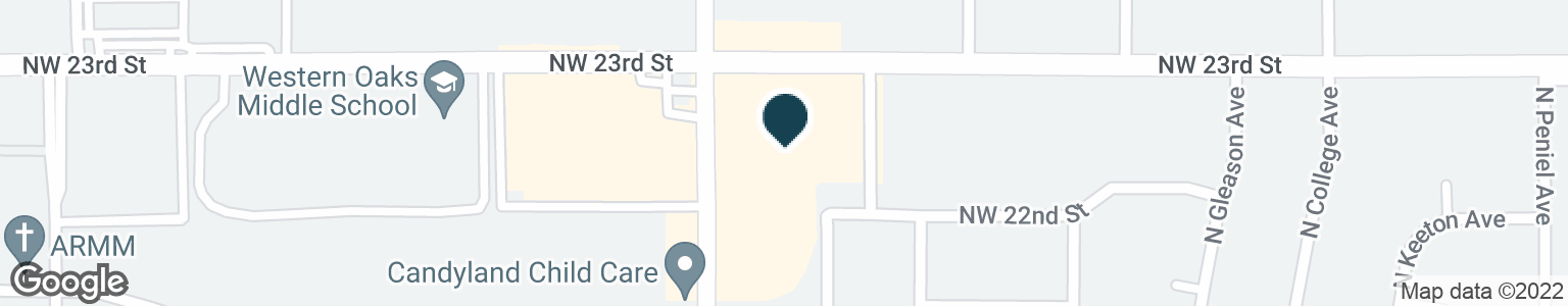 Google Map of2316 N ROCKWELL AVE