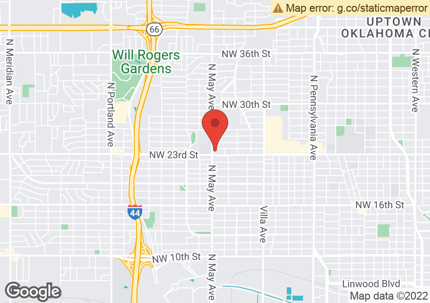 Google Map of 2400 N MAY AVE