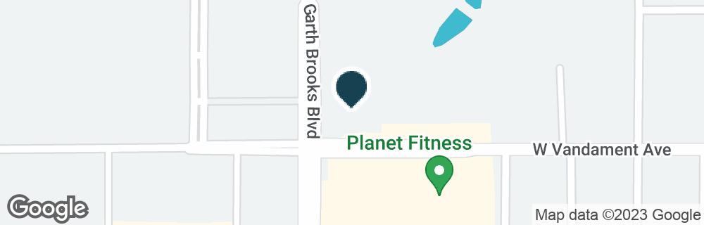 Google Map of1099 GARTH BROOKS BLVD