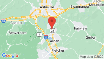 Map of Asheville