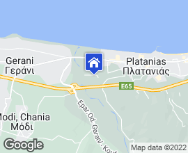 Platanias Villas map