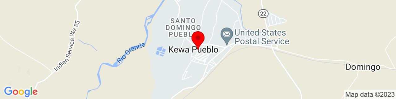 Google Map of 35.514722222222225, -106.36583333333333