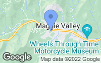Map of Maggie Valley, NC