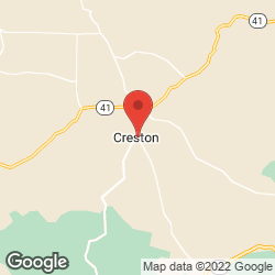 Creston Community Church on the map