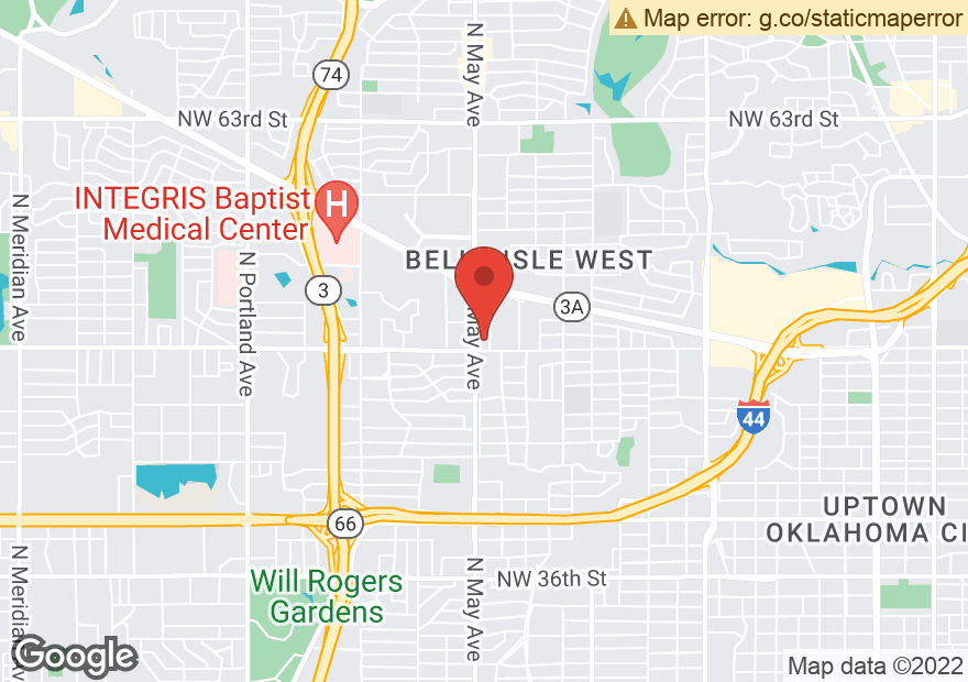 Google Map of 5120 N MAY AVE