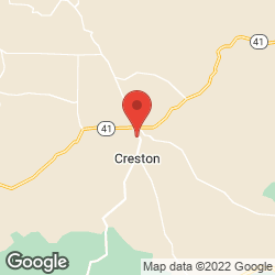 Creston Public Library on the map