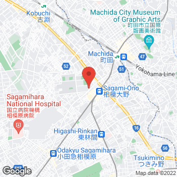 Map of TO THE HERBS 伊勢丹相模原店 at 相模大野4-4-3, 相模原市, 神奈川県 252-0303