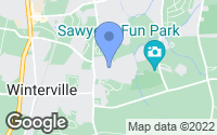 Map of Winterville, NC