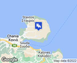Transfers Chania map