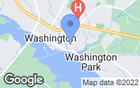 Map of Washington, NC