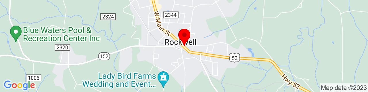 Google Map of 35.5512508, -80.4064485