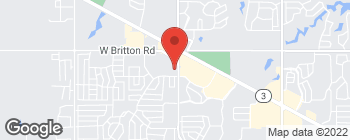 Map of 9111 N Council Rd in Oklahoma City