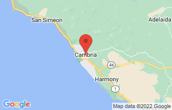 Map of Cambria