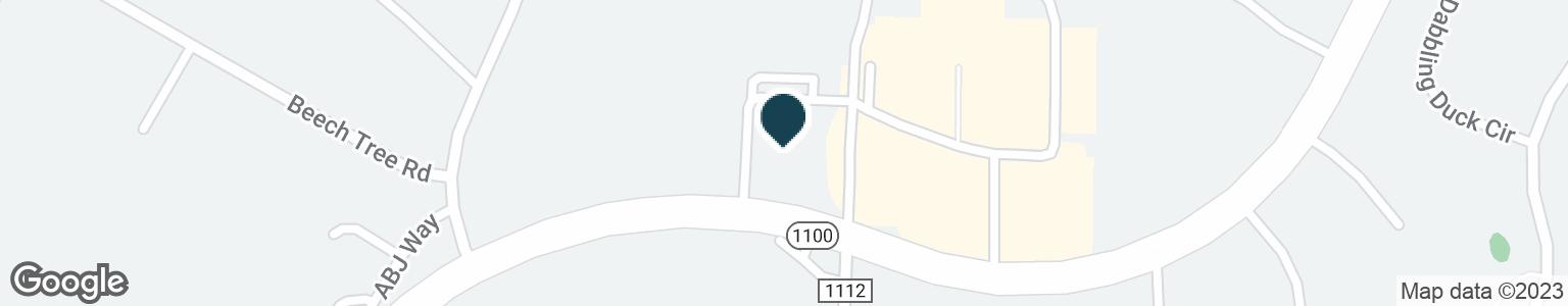 Google Map of1114 BRAWLEY SCHOOL RD