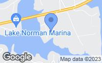 Map of Sherrills Ford, NC