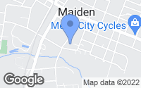 Map of Maiden, NC