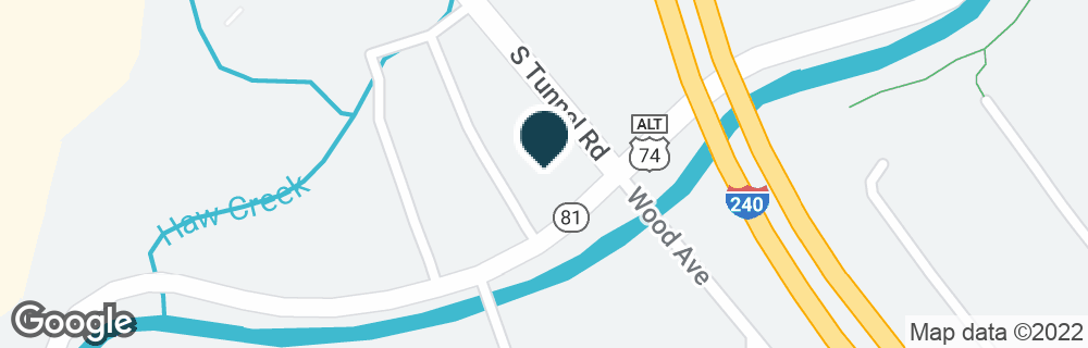 Google Map of91 S TUNNEL RD