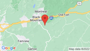 Map of Black Mountain