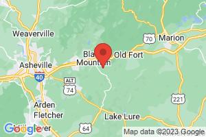 Map of Black Mountain