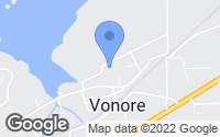 Map of Vonore, TN