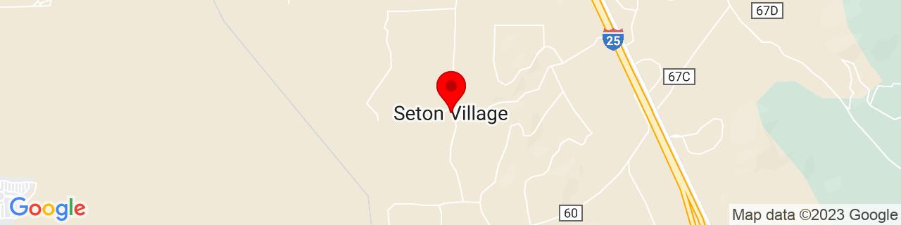 Google Map of 35.5991999, -105.9325205