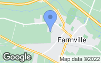 Map of Farmville, NC