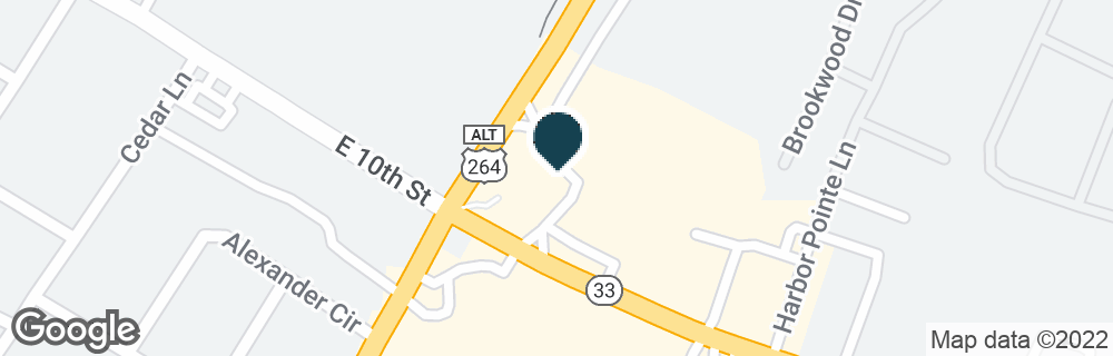 Google Map of3101 E 10TH ST