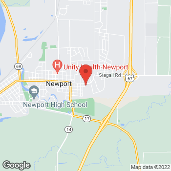 "Map of <span class=""LocationName"" itemprop=""name"" id=""location-name""><span class=""LocationName-brand"">AT&amp;T Store</span> <span class=""LocationName-geo"">Newport</span></span> at 2100 Malcolm Ave, Newport, AR 72112"