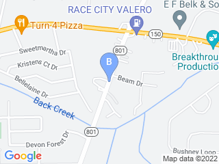 Map of Pets R Home Dog Boarding options in Mooresville | Boarding