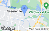 Map of Greenville, NC