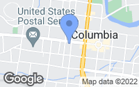 Map of Columbia, TN
