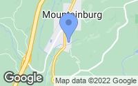 Map of Mountainburg, AR